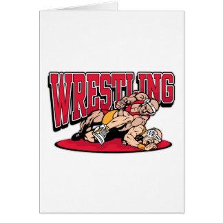 Wrestling Takedown Card