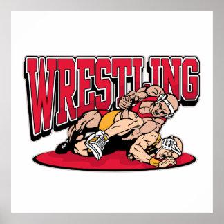 Wrestling Takedown Poster