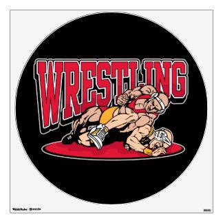 Wrestling Takedown Wall Sticker