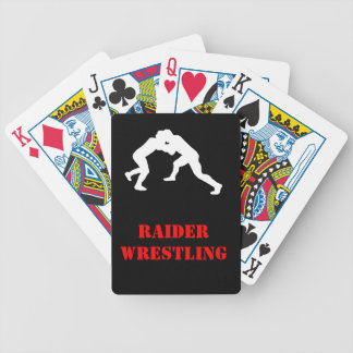 Wrestling team card deck