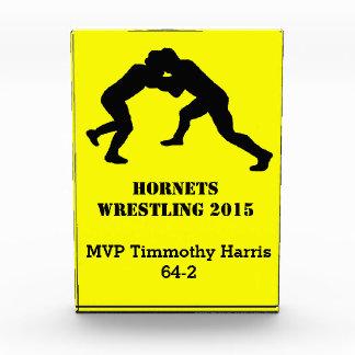 Wrestling team MVP award