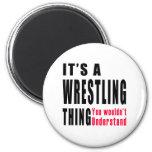 Wrestling Thing Designs Refrigerator Magnets