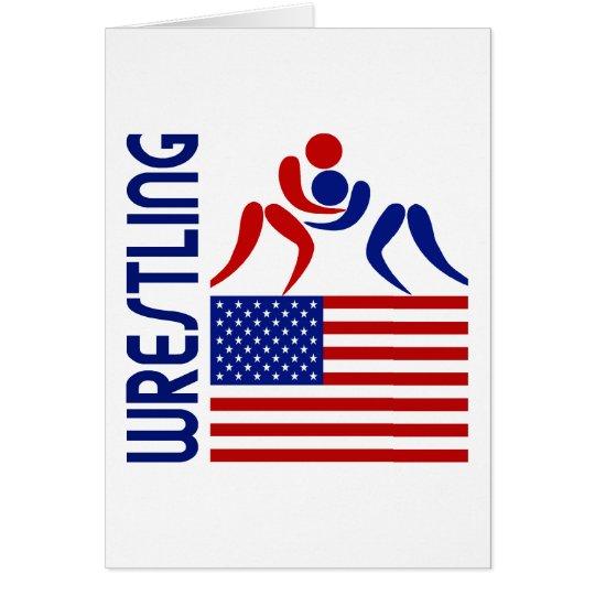 Wrestling United States Card