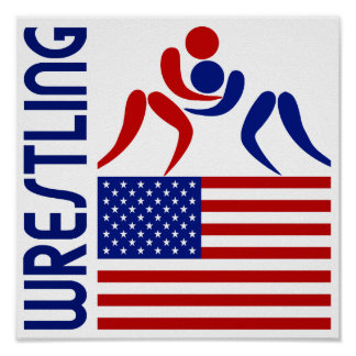 Wrestling United States Posters