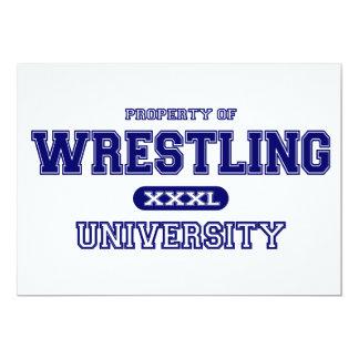 Wrestling University Card