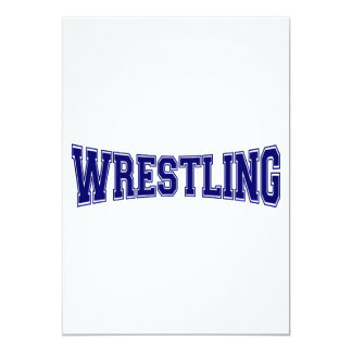 Wrestling University Style Card