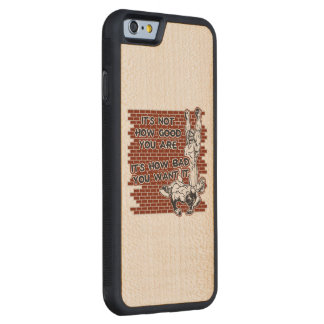 Wrestling Victory Carved Maple iPhone 6 Bumper Case