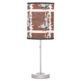 Wrestling Victory Table Lamp