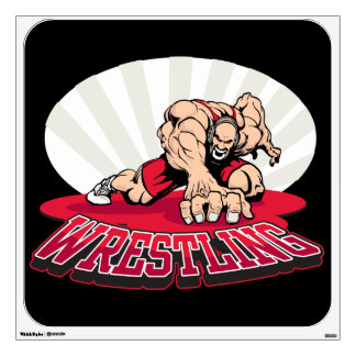 Wrestling! Wall Sticker