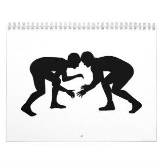 Wrestling Wrestler Calendar