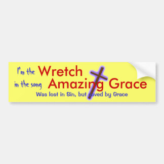 Wretched Bumper Sticker