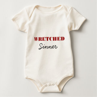 Wretched Sinner Baby Bodysuit