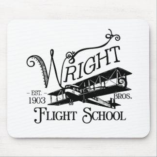 Wright Bros. Flight School Mouse Pad