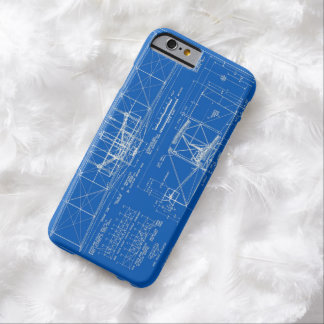 """Wright Bros. """"Flyer"""" Blueprint 1903 Barely There iPhone 6 Case"""