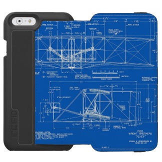 "Wright Bros. ""Flyer"" Blueprint 1903 iPhone 6/6s Wallet Case"