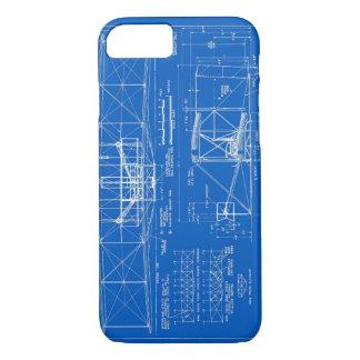 "Wright Bros. ""Flyer"" Blueprint 1903 iPhone 8/7 Case"