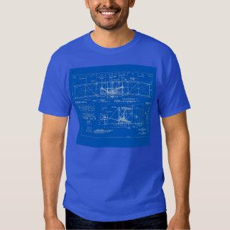 "Wright Bros. ""Flyer"" Blueprint 1903 T-shirt"