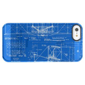 """Wright Bros. Modelo 1903 del """"aviador"""" Funda Clearly™ Deflector Para iPhone 5 De Uncommon"""