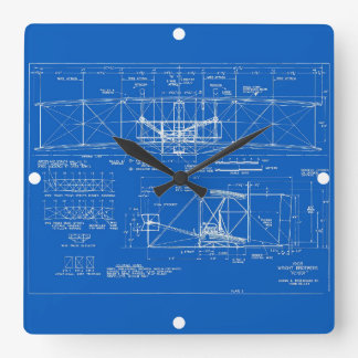 "Wright Bros. Modelo 1903 del ""aviador"" Reloj"