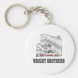 wright brother history keychain