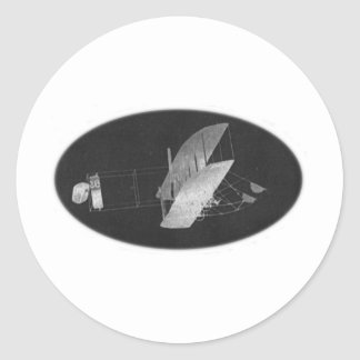 Wright Brothers #1 Classic Round Sticker