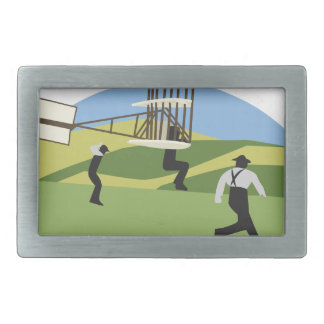 Wright Brothers Belt Buckle