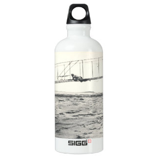 Wright Brothers' Glider Tests Aluminum Water Bottle