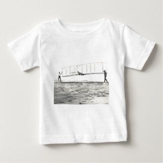 Wright Brothers' Glider Tests Baby T-Shirt