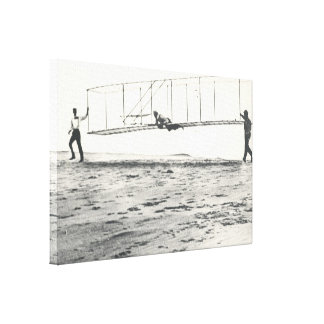 Wright Brothers' Glider Tests Canvas Print