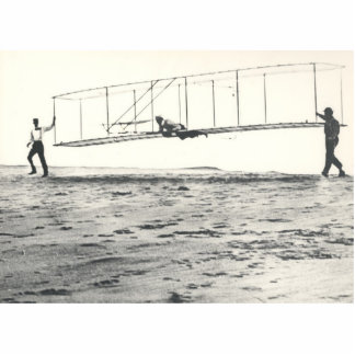 Wright Brothers' Glider Tests Cutout