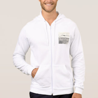 Wright Brothers' Glider Tests Hooded Pullover
