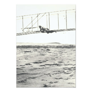 Wright Brothers' Glider Tests Personalized Invites