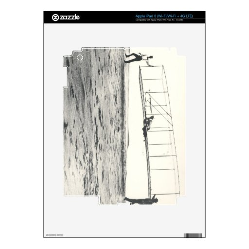 Wright Brothers' Glider Tests iPad 3 Skins