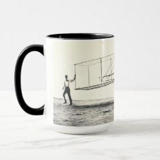 Wright Brothers' Glider Tests Mug