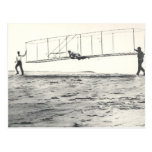Wright Brothers' Glider Tests Post Card
