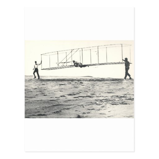 Wright Brothers' Glider Tests Postcards