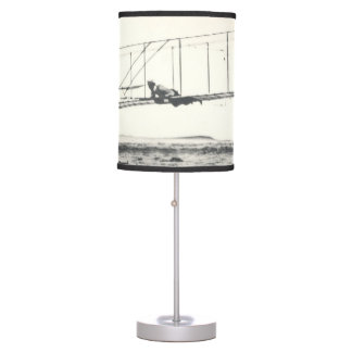 Wright Brothers' Glider Tests Table Lamp