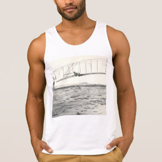 Wright Brothers' Glider Tests Tank Top