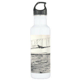Wright Brothers' Glider Tests Water Bottle