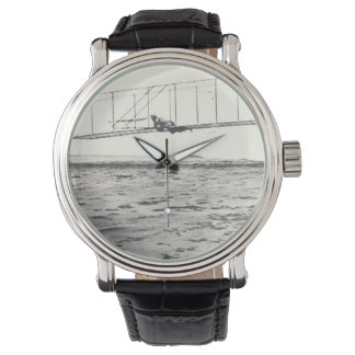 Wright Brothers' Glider Tests Wrist Watch