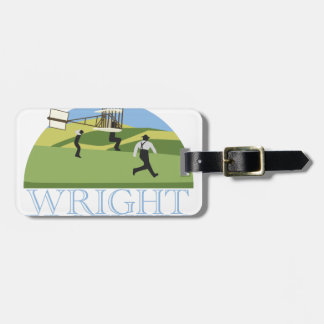 Wright Brothers Luggage Tag
