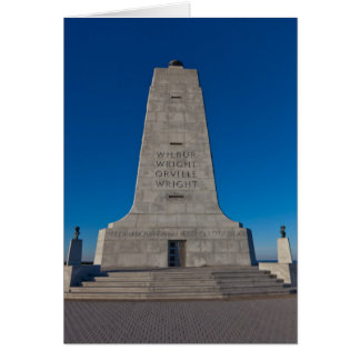 Wright Brothers Memorial Card