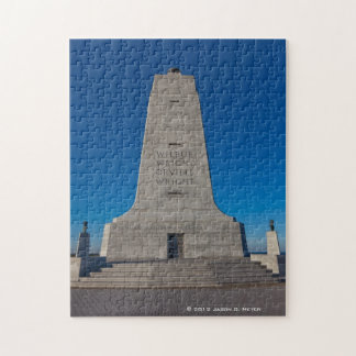 Wright Brothers Memorial Jigsaw Puzzle