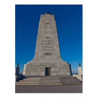 Wright Brothers Memorial Postcard