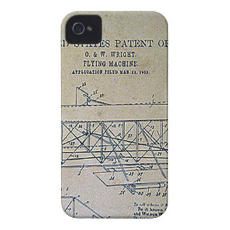 Wright Brothers Patent Design iPhone 4 Case