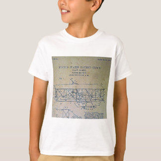 Wright Brothers Patent Design T-Shirt