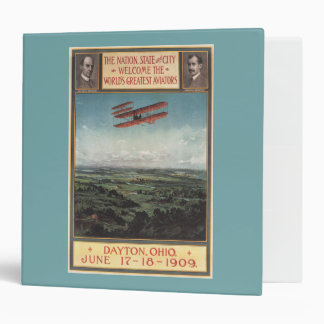 Wright Brothers Plane Binder