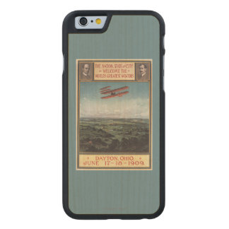 Wright Brothers Plane Carved Maple iPhone 6 Case