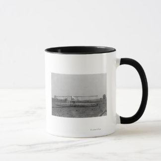 Wright Brothers Plane Close-up View Mug