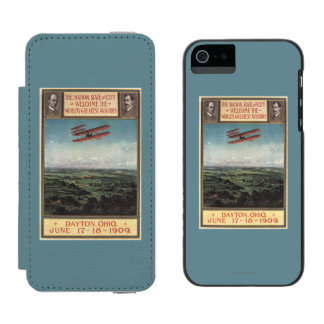 Wright Brothers Plane iPhone SE/5/5s Wallet Case